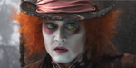 Depp\'s hatter is mad about Alice in Wonderland