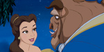 Beauty and the Beast fall for each other